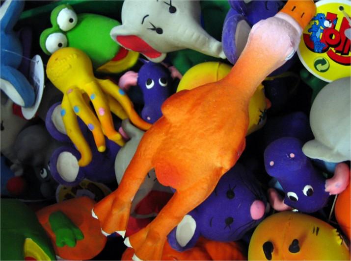 La hora de recoger los juguetes