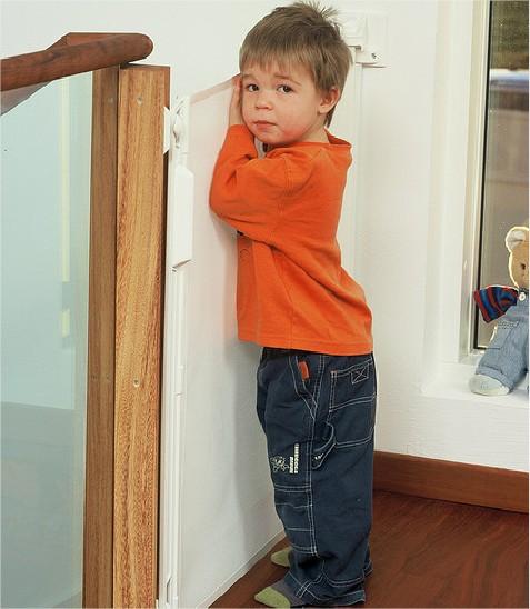 La seguridad del niño en casa