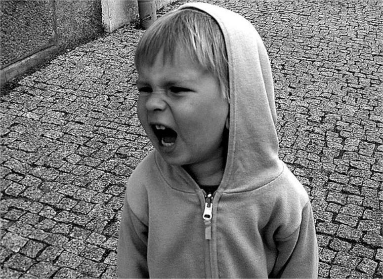 Las rabietas en los niños
