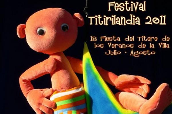 Festival de Títeres en El Retiro