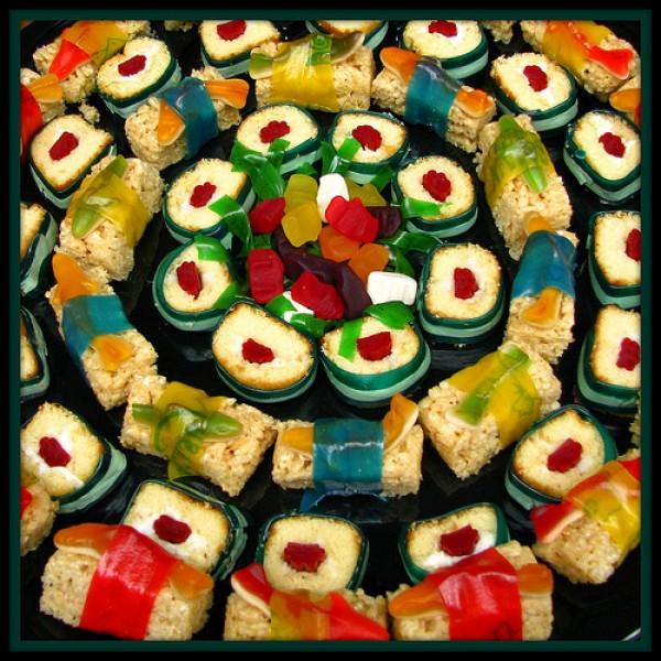 Receta de Sushi de Caramelos