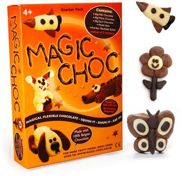 ¡A jugar con chocolate!