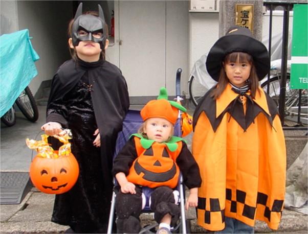 Calabaza de Halloween para guardar caramelos