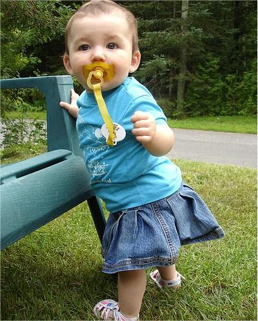Estimular a andar a los bebés