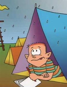 Tips para organizar acampadas con niños