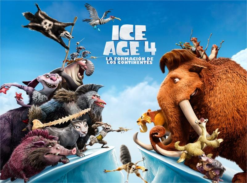 Estreno de Ice Age 4