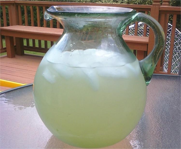 Limonada para los días de calor