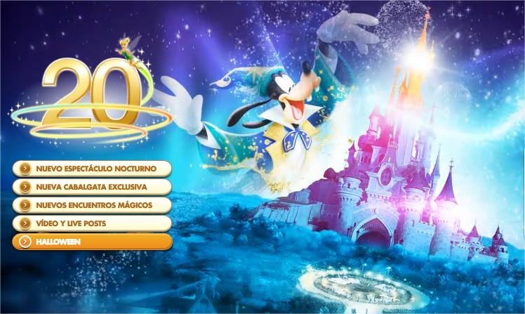 20 Aniversario Disneyland Paris