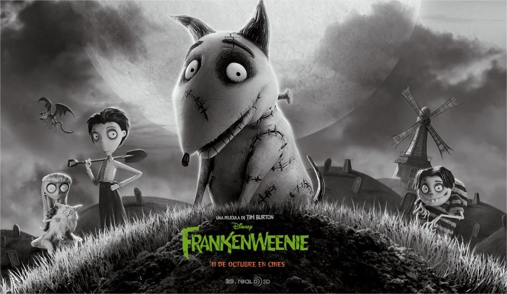 Estrenos de cine Octubre: Frankenweenie