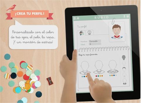 Los cuadernillos Rubio en el iPad