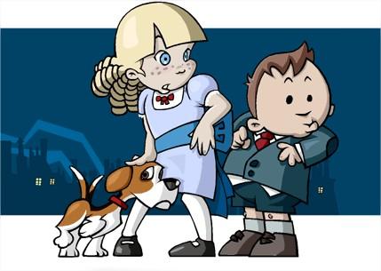 Las aventuras de Alfred & Agatha
