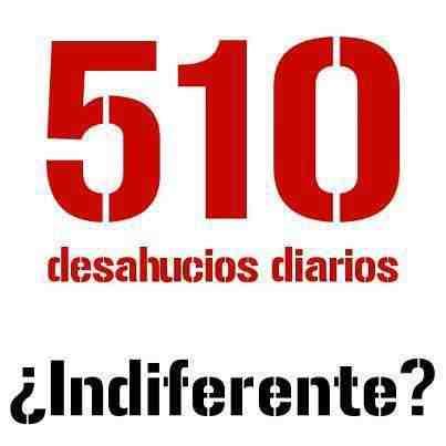 Más de 500 desahucios diarios en España