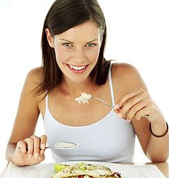 Comer despacio para hacer una buena digestión en el embarazo