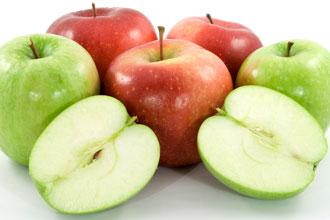 Siete beneficios de las manzanas en la dieta familiar