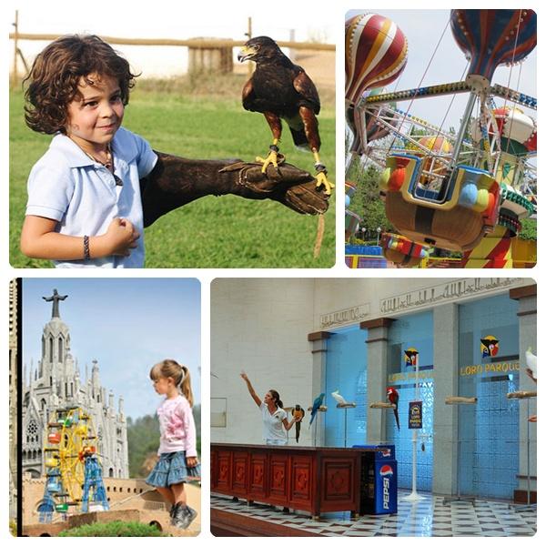 Los diez mejores parques temáticos de España para niños