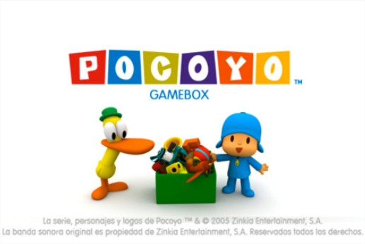 Pocoyó Gamebox