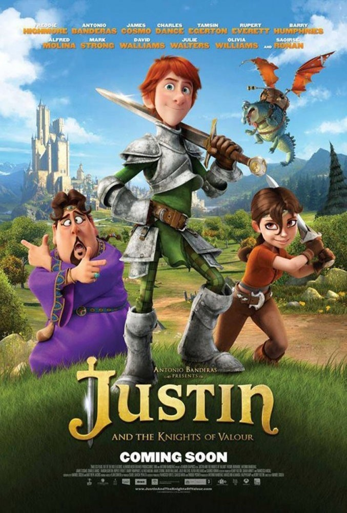 Justin y la espada del valor triunfa en Gran Bretaña
