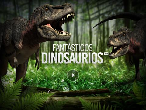 Los dinosaurios en el iPad