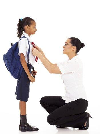 Cómo vestir a los niños para ir al colegio