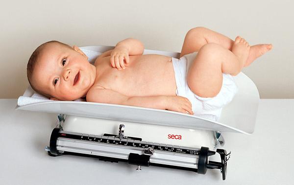 ¡A por un bebé con buen peso!
