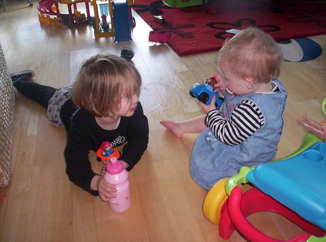 ¿Qué les gusta hacer a los niños de entre 2 y 3 años?