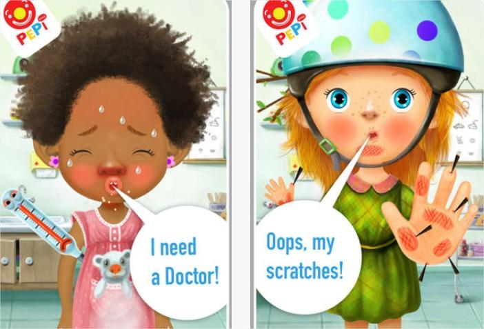 Juego para iPad: Pepi Doctor
