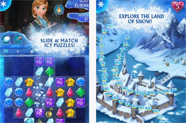 Juego: Frozen