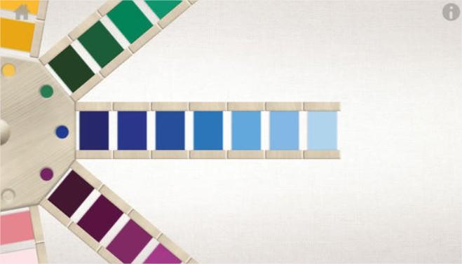 APP: Introducción a los colores, por Montessorium