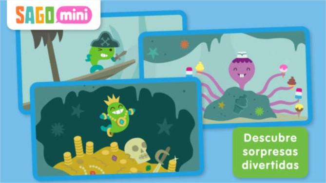 APP: Sago Mini Ocean Swimmer