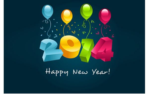 Feliz 2014 con mucho amor en familia