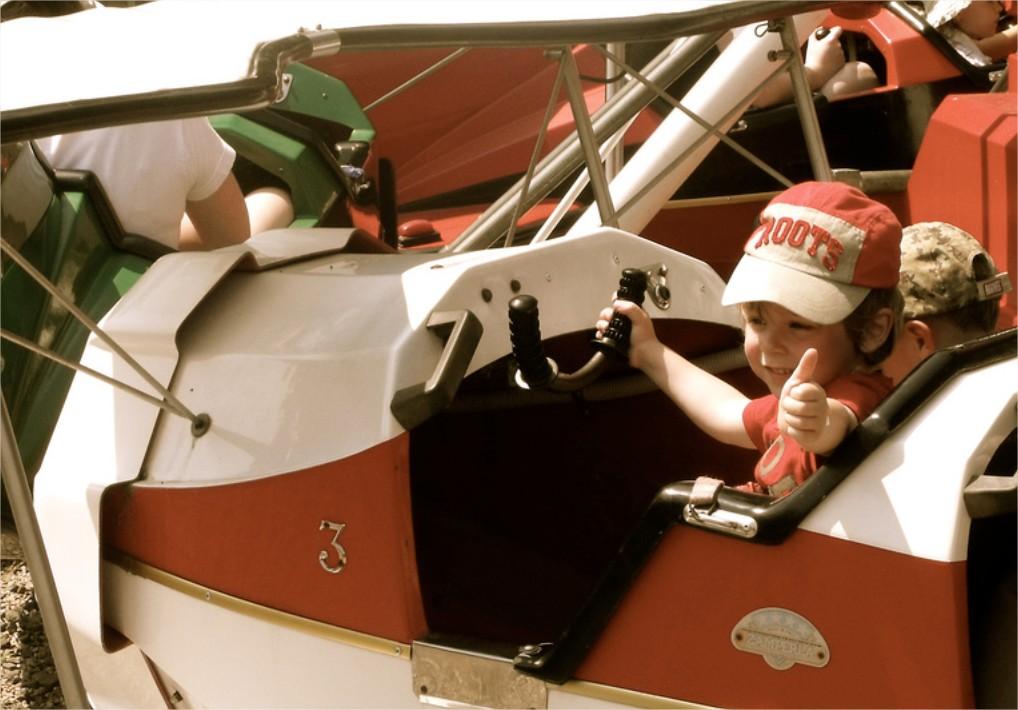 Viajar en avión con niños I