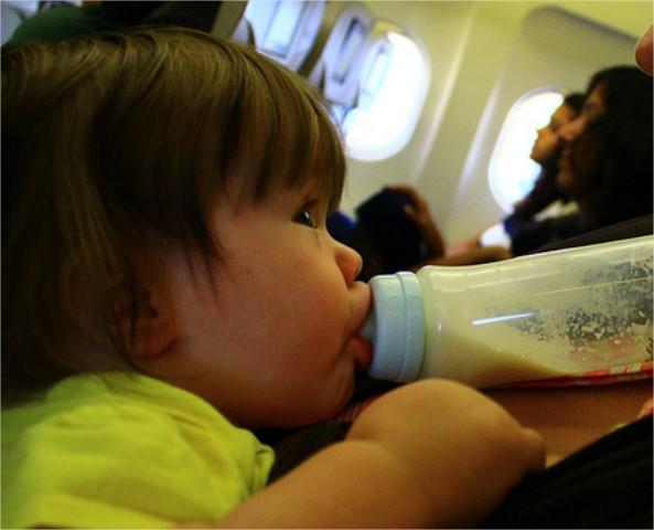 Viajar en avión con niños II