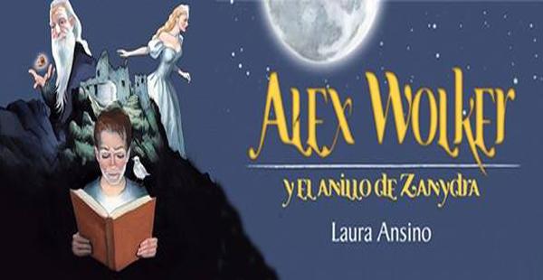 Alex Wolker y el anillo de Zanydra, ahora también de venta en Amazon