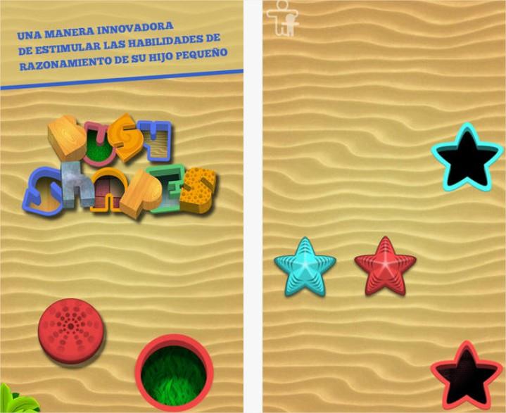 Busy Shapes, una app que les encantará