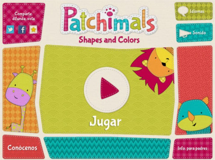 Patchimals-Formas y Colores