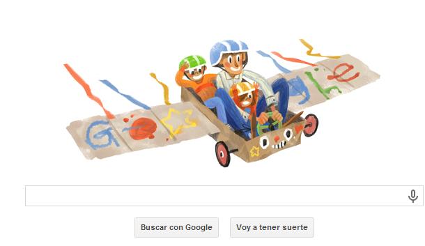 Google crea un doodle para celebrar el Día del Padre