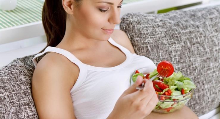 Cómo hacer una buena digestión durante el embarazo