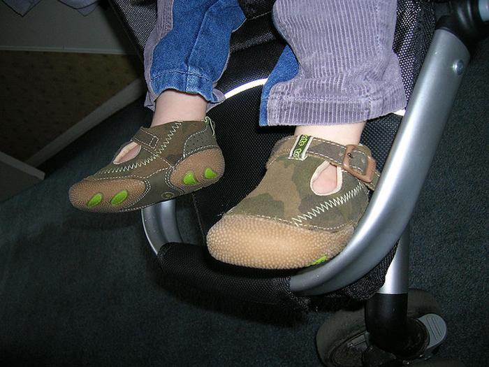 primeros zapatos para andar
