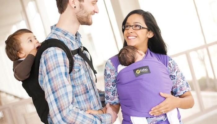 Portear a tu bebé es sinónimo de criar con apego