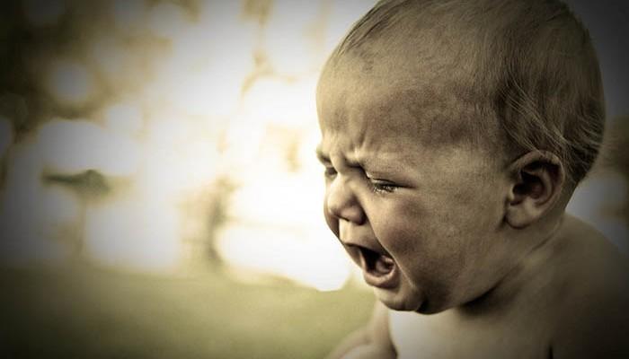 Espasmo del sollozo: niños que se quedan privados